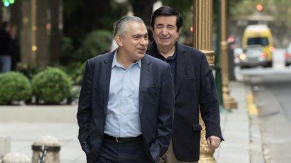 Duran Barba y su mano derecha, Santiago Nieto