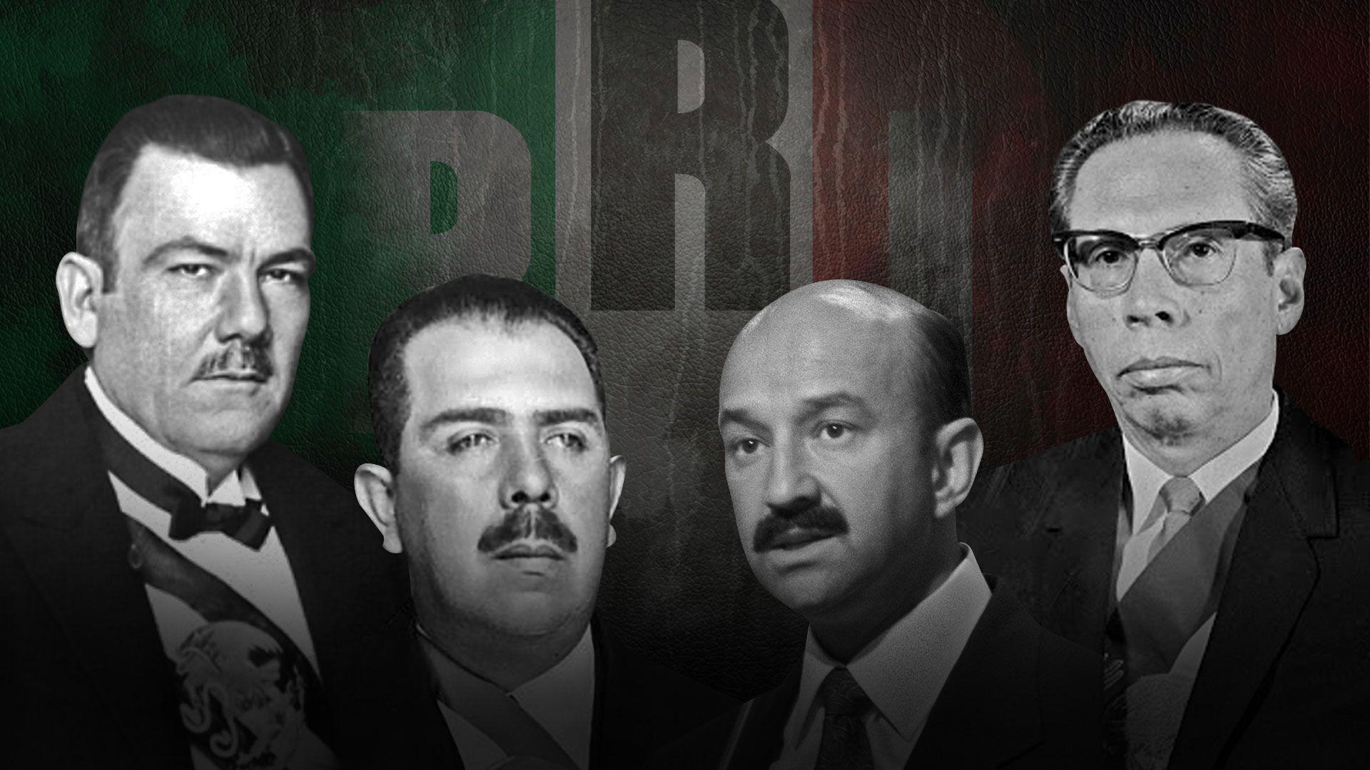 Aniversario del Partido Revolucionario Institucional (PRI) (Fotoarte: Jovani Pérez / Infobae)