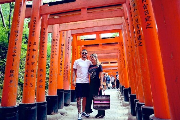 Wanda y Mauro en Japón. (Foto: Instagram)