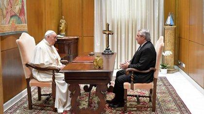 encuentro alberto fernandez papa francisco vaticano (3)