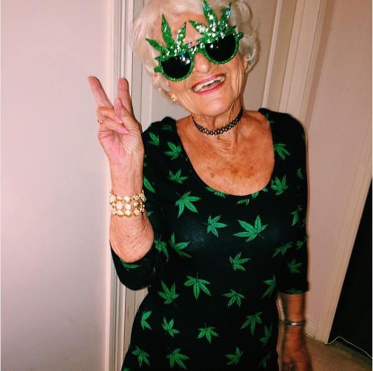 Helen Van Winkle, de Kentucky, tiene 90 años
