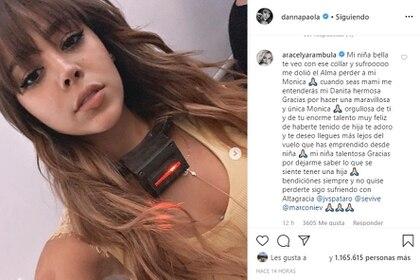 """Aracely Arámbula también se despidió del personaje de Danna Paola en """"La Doña"""". (Foto: Instagram)"""