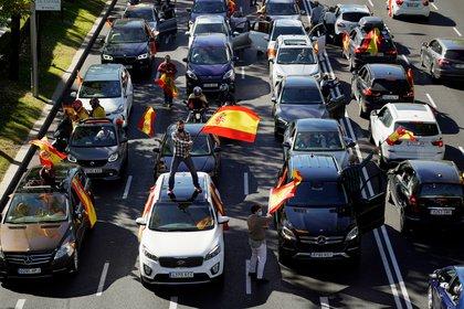 La manifestación de Vox en Madrid (REUTERS/Juan Medina)