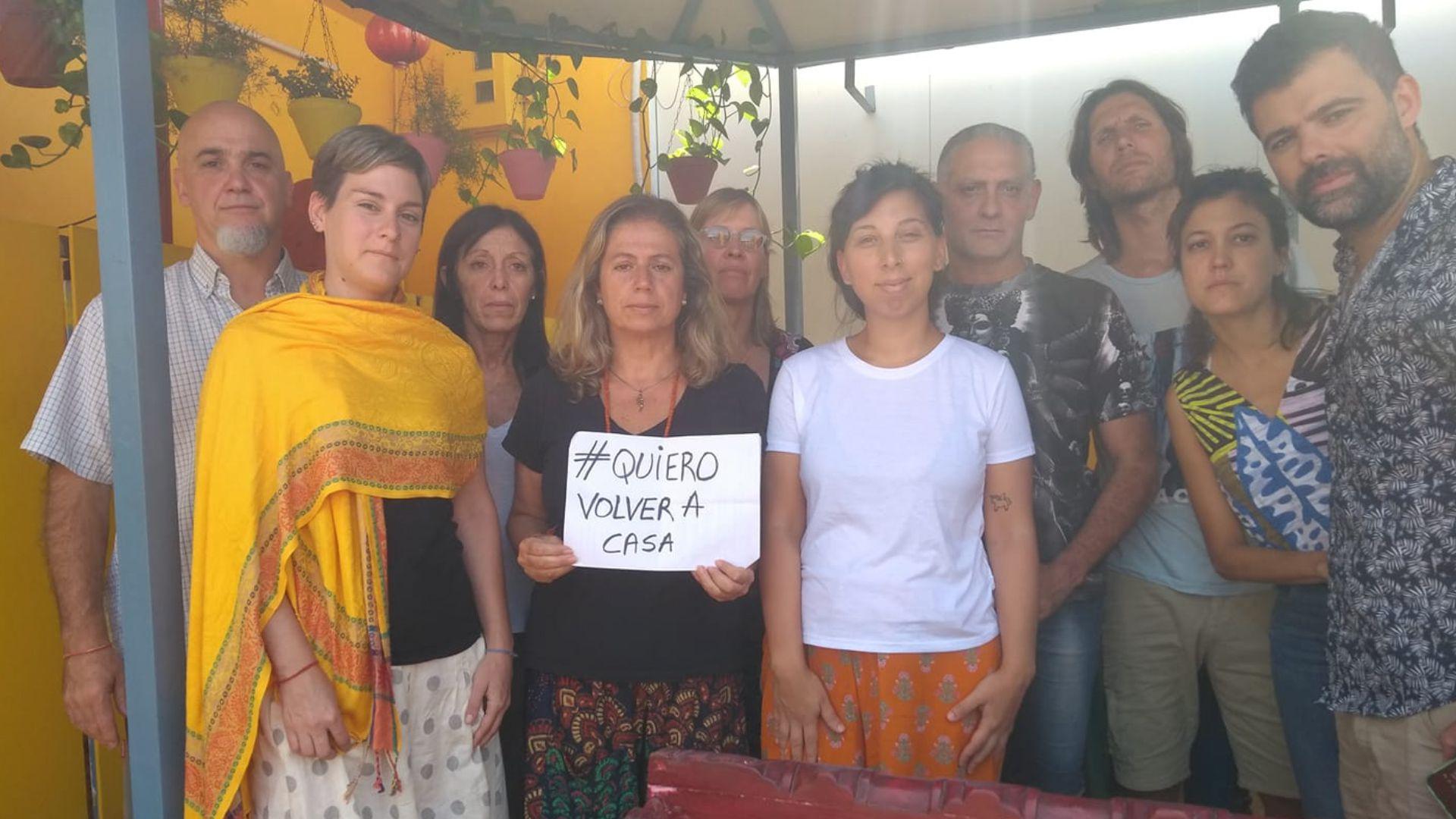 Un grupo de argentinos varados en India y Nepal