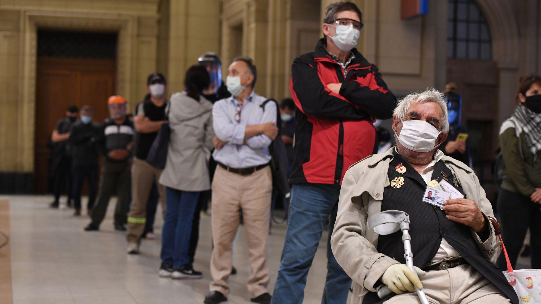 En Argentina se registraron 165 muertes por coronavirus