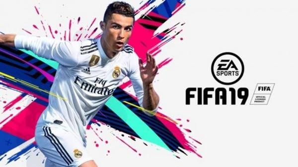 Así se promocionaba el FIFA 19, con CR7 en el Madrid