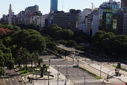 El Presidente resaltó que el aislamiento obligatorio se viene cumpliendo en un alto porcentaje (REUTERS/Matias Baglietto)