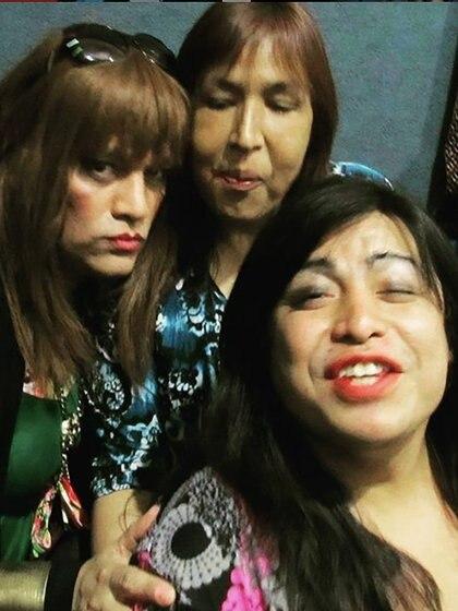 Susy Shock, Lohana Berkins y Diana Sacayán