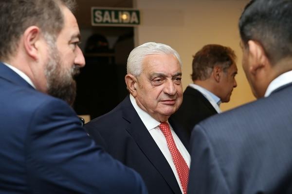 Adelmo Gabbi, presidente de la Bolsa de Comercio (Foto: Prensa del Congreso Mundial Intercultural e Interreligioso)