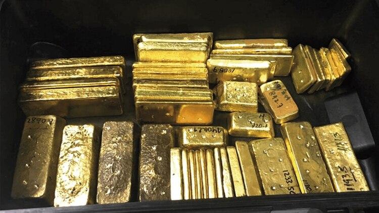 Cargamento de oro venezolano incautado en Aruba (Crédito: runrun.es)