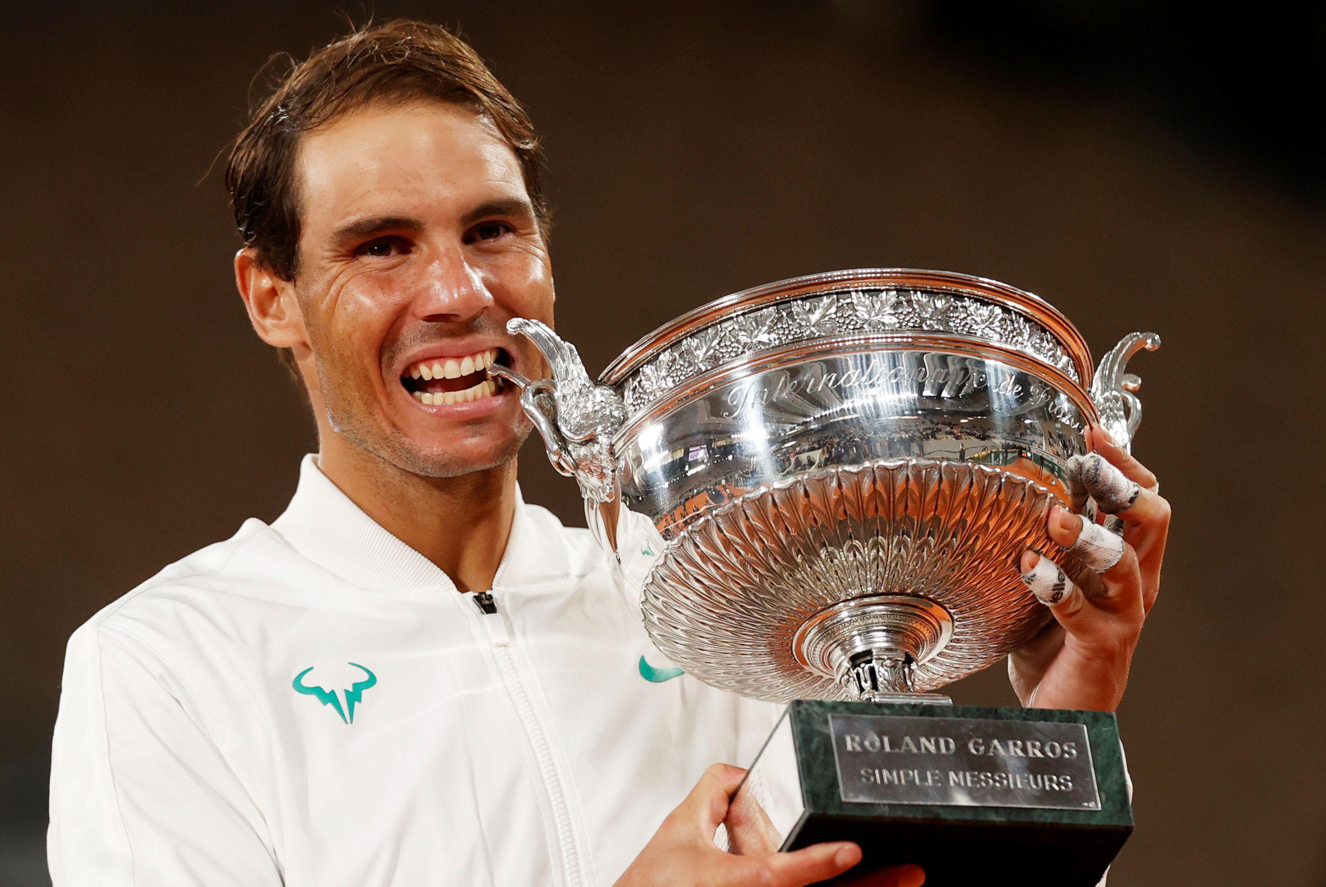 Nadal se alzó con su 13° Roland Garros (REUTERS/Christian Hartmann)