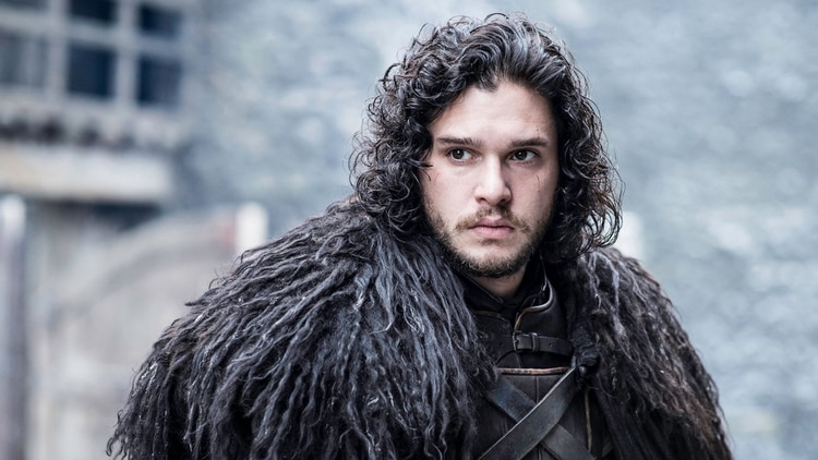 Kit Harington como Jon Snow en Game of Thrones