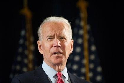Joe Biden, presidente de los EEUU (EFE/Tracie Van Auken/Archivo)