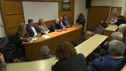 Encuentro sobre cambio climático en la UCES