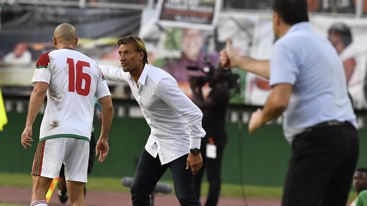 El francés Hervé Renard llevó a Marruecos al Mundial tras 20 años (AFP) 67e24476280c5