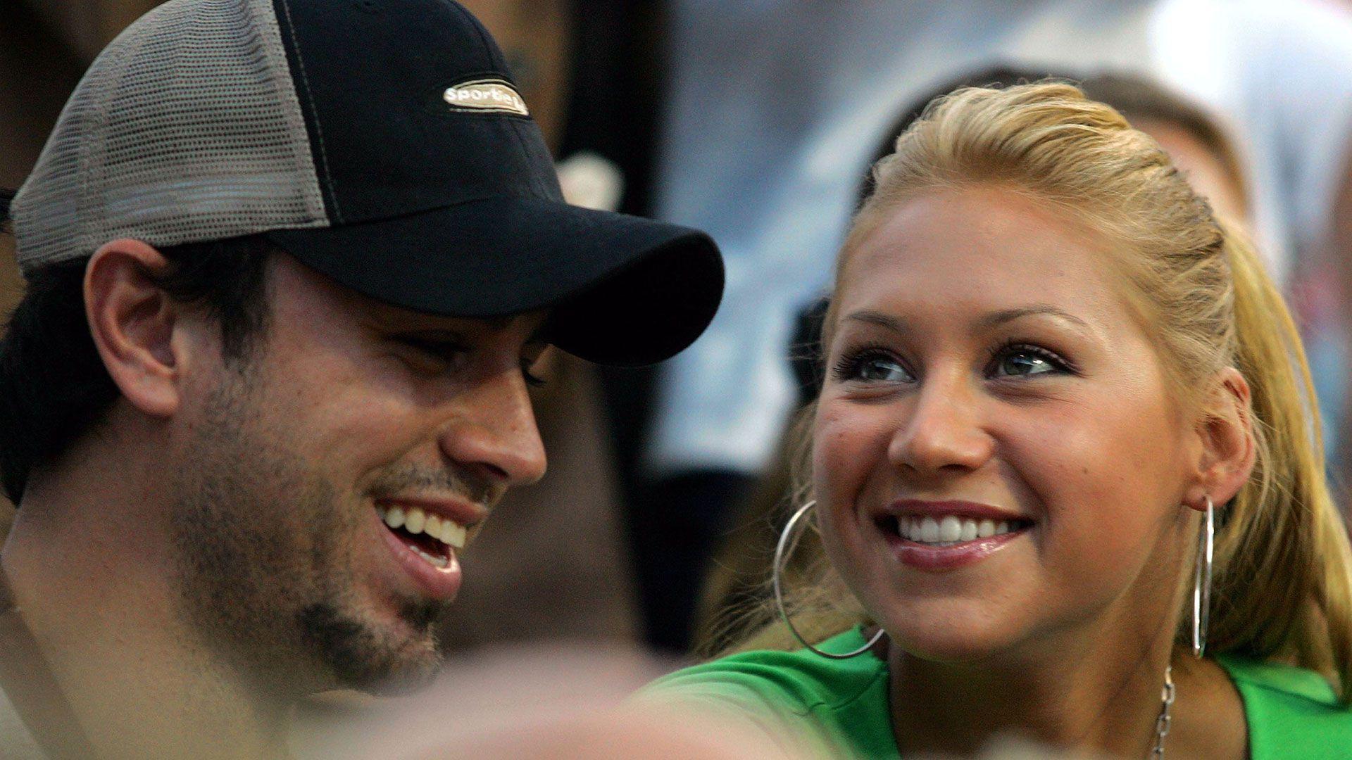 Anna Kournikova y Enrique Iglesias se conocieron en 2001 (Foto: Getty)