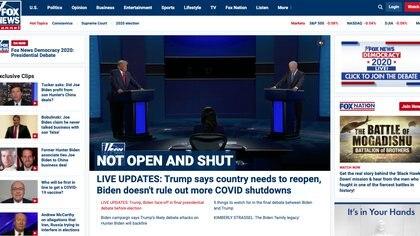 """Hasta Fox News concedió: """"A pesar de la ferocidad de los intercambios, la mayoría de los golpes directos a la mandíbula se dieron respetuosamente, al menos en comparación con el primer debate"""""""