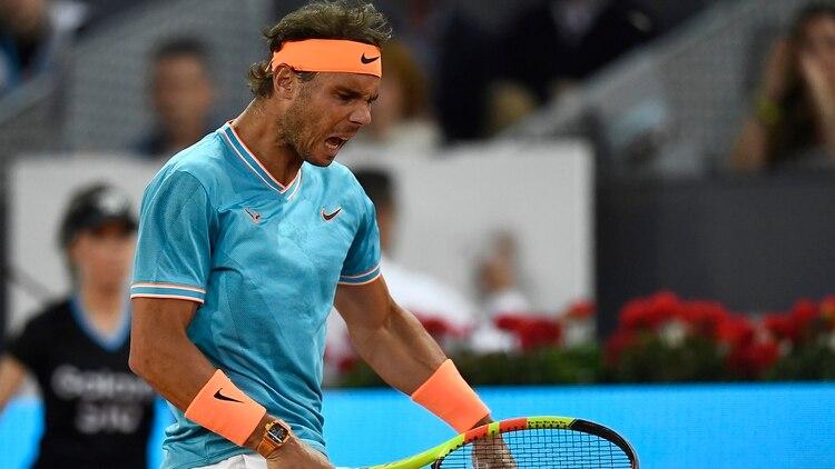 Nadal quedó afuera en semifinales (Photo by OSCAR DEL POZO / AFP)