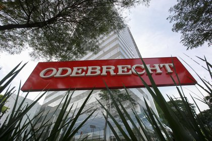 Según el Departamento de Justicia de EE.UU., Odebrecht pagó sobornos en Colombia por 11 millones de dólares como parte de la millonaria red de corrupción montada en América Latina y África. EFE/Sebastião Moreira/Archivo