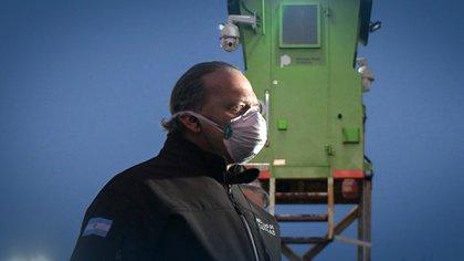 """Sergio Berni: """"Hay otros grupos de riesgo prioritarios para vacunar antes que a los presos"""""""