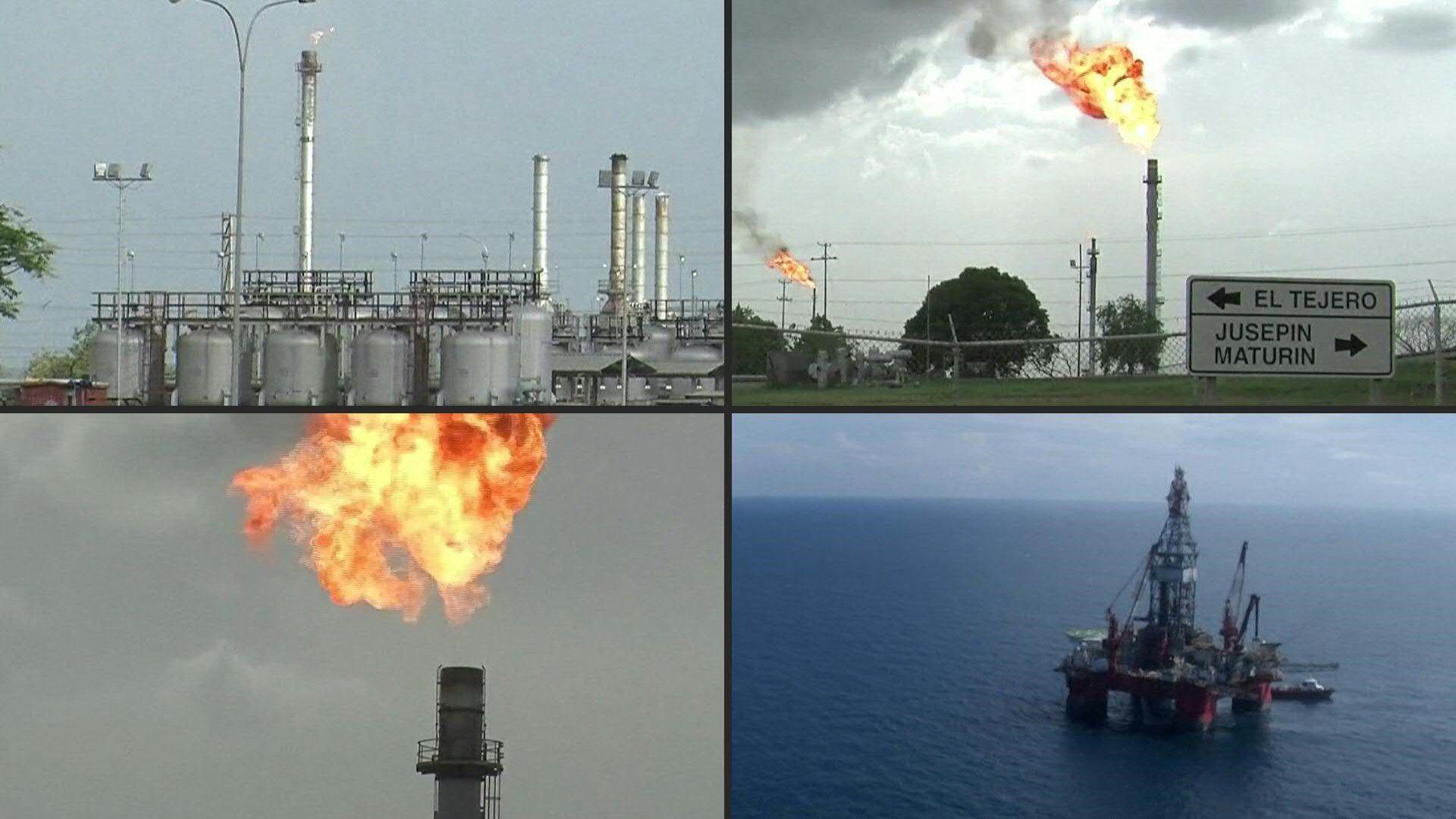 """La OPEP y sus socios productores acordaron este domingo el """"mayor recorte de la producción de la historia"""" con la esperanza de hacer subir los precios del petróleo en plena pandemia de coronavirus y pese a las tensiones entre Moscú y Riad. STOCKSHOTS of the oil industry."""