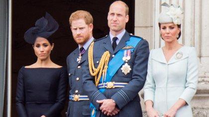 Meghan Markle y Harry no trabajarán más con William y Kate Middleton (The Grosby Group)