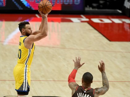 Actualmente Stephen Curry es una de las grandes figuras de los Warriors (Foto: Steve Dykes/ USA TODAY Sports)