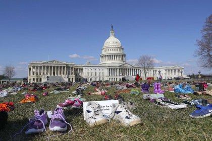 Al menos seis menores de edad murieron en distintos tiroteos al rededor del EEUU (Foto: AP/Pablo Martinez Monsivais)