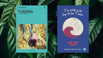 """""""Tundra"""" de Abi Andrews y """"La noche y la luz de la Luna"""" H. D. Thoreau"""