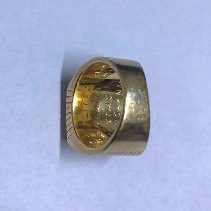El anillo con las inscripciones