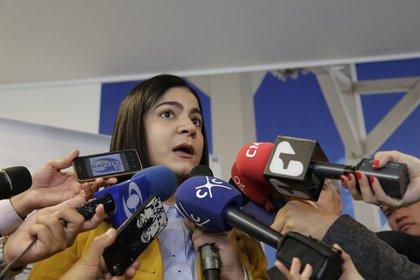En la foto: Martha Lucía Ospina, Directora de INS Colombia. (Colprensa - Álvaro Tavera)
