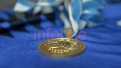 Una de las medallas que engalanan el museo
