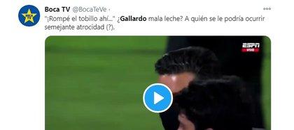 El pedido de Gallardo a Rojas: así reaccionaron en las redes