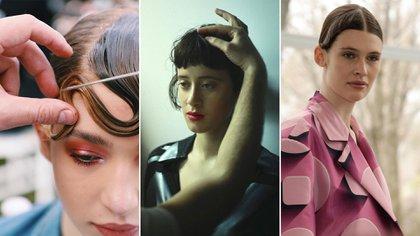 Los peinados del designers: Zitta, Tramando y Nous Etudions