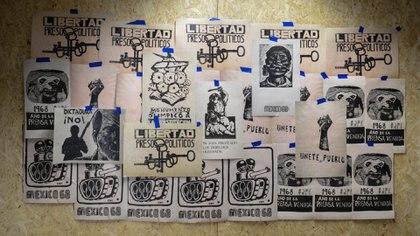 """MAterial de la muestra """"Insurgencias 78"""" en la Biblioteca Nacional (Foto: Marcelo Huici/BN)"""