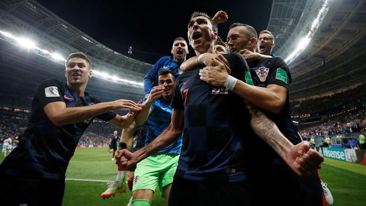 Croacia perdió 4-2 ante Francia la final del Mundial de Rusia (Reuters) 868c4580a7ef2