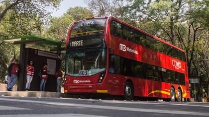 El Metrobús seguirá operando en horario habitual. (Foto: Cuartoscuro)
