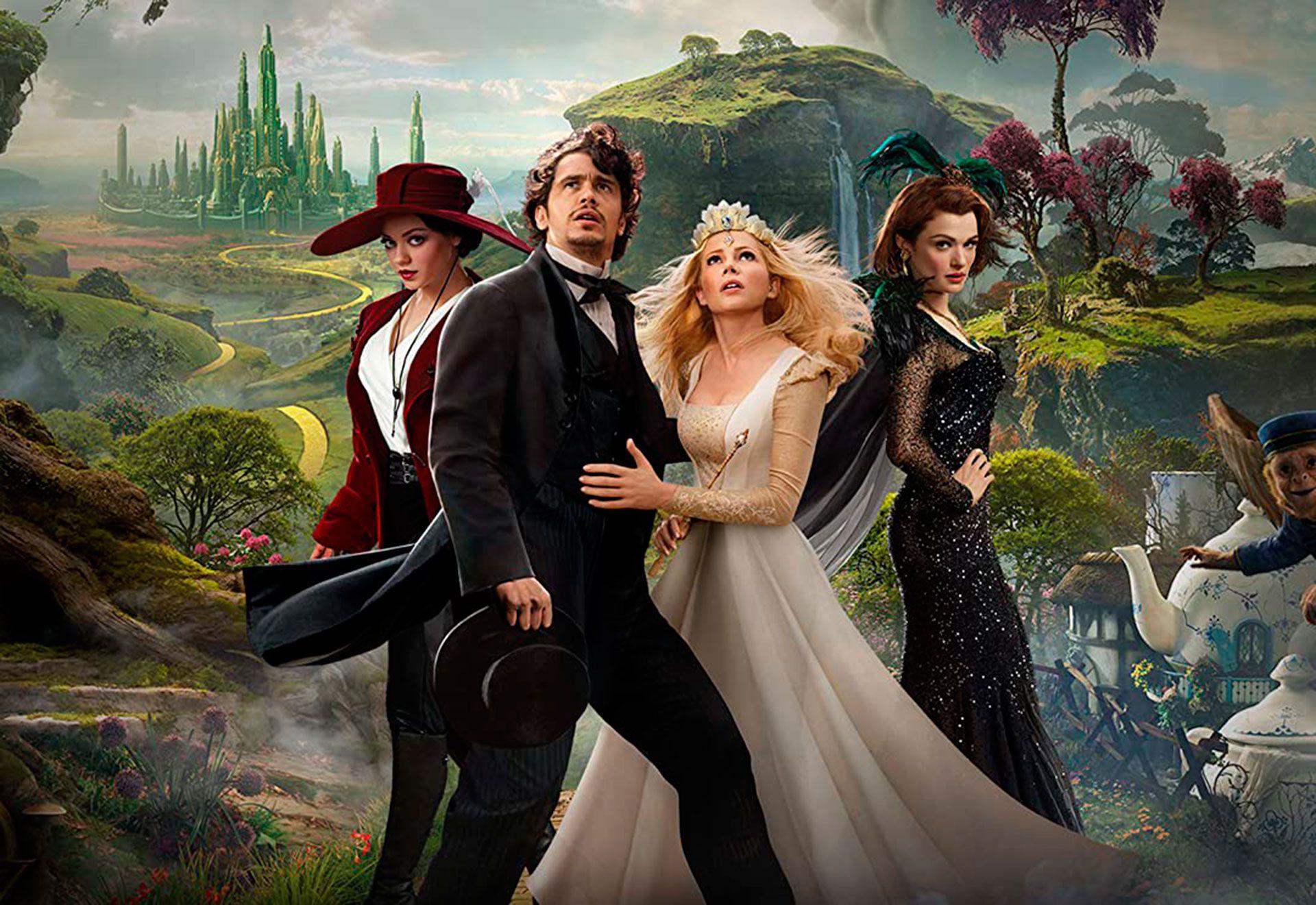 """""""Oz, El Poderoso"""" es una precuela del filme clásico """"El Mago de Oz"""""""