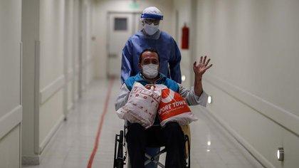 El ministro aseguró que el sistema de salud del AMBA tiene menos presión que hace dos semanas (EFE/ Juan Ignacio Roncoroni)