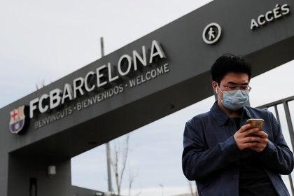 El Barcelona jugará sin público los próximos partidos  (Reuters)