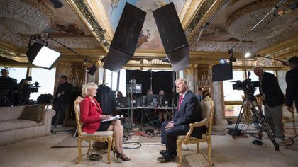La entrevista de Donald Trump con el programa 60 minutes, emitido por la cadena CBS