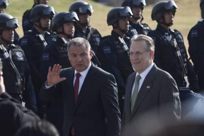 El ex secretario de Seguridad Pública fue arrestado en la localidad de Grapevine, en Dallas, Texas (Foto: MOISÉS PABLO/CUARTOSCURO)