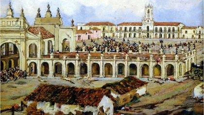 El Cabildo, el gran lugar de encuentro durante la Semana de Mayo