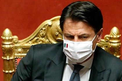 El premier Giuseppe Conte (Reuters)