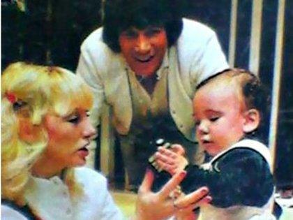 Carlos Monzón, Alicia Muñiz y Maximiliano, el hijo de la pareja
