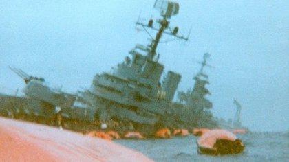 El ARA General Belgrano fue hundido el 2 de mayo de 1982. Foto: Archivo DEF.