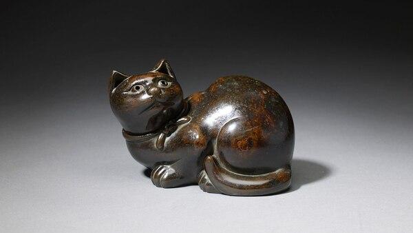 Bronze. 11 x 17 x 11 cm (4.5 x 6.8 x 4.5 in.) Da-Ming, Xuande nianzhi (Dinastía Ming:1425-1435)