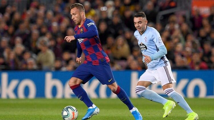 El Barcelona derrota al Celta de Vigo