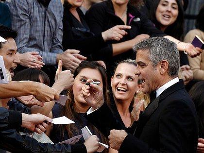 La fama y el éxito no le hicieron olvidar a sus amigos (Crédito: AP)