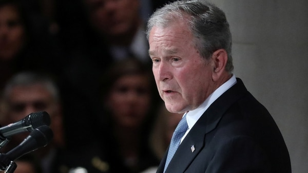 George W. Bush, presidente de Estados Unidos entre 2001 y 2009 (Reuters)